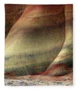 Traces Of Life Fleece Blanket
