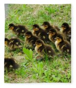 Traffic Jam Fleece Blanket
