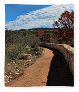 Trail At Reimer's Ranch Fleece Blanket