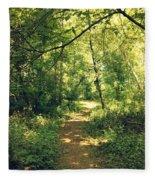 Trail Of Hope II Fleece Blanket