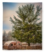 Trailer Trash Fleece Blanket