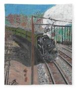 Train 641 Fleece Blanket