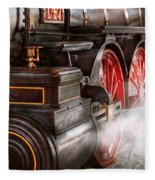 Train - Let Off Some Steam  Fleece Blanket