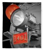 Train Light 1401 Fleece Blanket