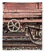 Train Wagon Fleece Blanket