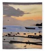 Tranquil Dawn Fleece Blanket