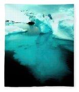 Transparent Iceberg Fleece Blanket
