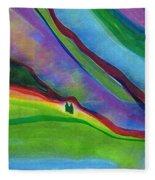 Travelers Foothills By Jrr Fleece Blanket