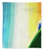 Travelers Rainbow Waterfall Detail Fleece Blanket