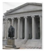 Treasury Department Washington Dc Fleece Blanket