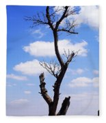 Tree 8 Fleece Blanket