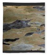 Tree Bark I Fleece Blanket