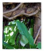 Tree Branch Fleece Blanket
