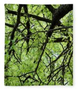 Tree Branches  Fleece Blanket