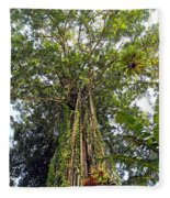 Tree Canopy Fleece Blanket