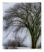 Tree Elder Fleece Blanket
