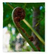 Tree Fern Fleece Blanket