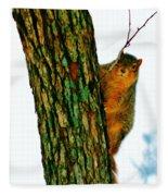 Tree Hugger Fleece Blanket