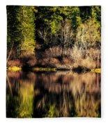 Tree Impressions Fleece Blanket