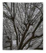 Tree Limb 4 Fleece Blanket