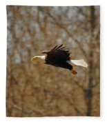 Tree Line Flight Fleece Blanket