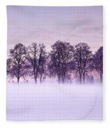 Tree Line Fleece Blanket