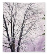 Tree Memories Fleece Blanket