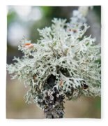 Tree Moss 2 Fleece Blanket