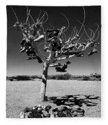 Tree Of Lost Soles 2 Fleece Blanket