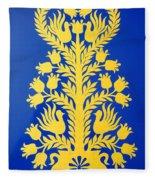 Tree Of Love Fleece Blanket