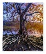 Tree Of Souls Fleece Blanket