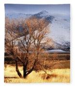 Tree On The Farm Fleece Blanket