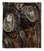Tree Owl Fleece Blanket