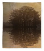 Tree Reflections II Fleece Blanket