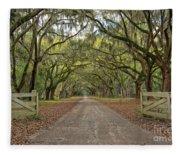 Tree Road Fleece Blanket
