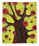 Tree Sentry Fleece Blanket