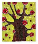 Tree Sentry Fleece Blanket
