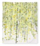Tree Series3 Fleece Blanket