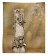 Tree Stump 2 The Forgotten Series 15 Fleece Blanket