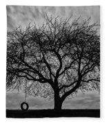 Tree Swing Fleece Blanket