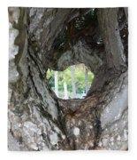 Tree View Fleece Blanket