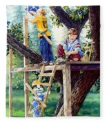 Treehouse Magic Fleece Blanket
