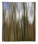 Trees #2 Fleece Blanket
