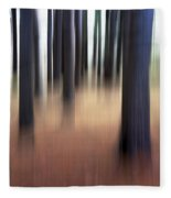 Trees #3 Fleece Blanket