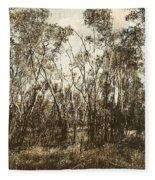 Trees Of Ashburn Fleece Blanket