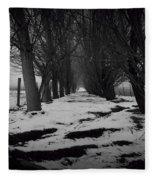 Trees Of The Ida Valley  Fleece Blanket