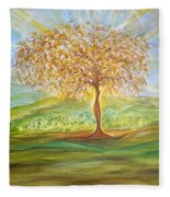 Treesa Fleece Blanket