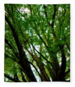 Treetops 2 Fleece Blanket