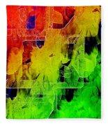 Trellis Fleece Blanket