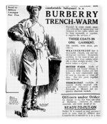 Trench Coat, 1917 Fleece Blanket